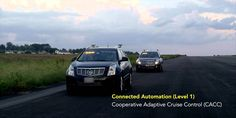 "Paving the way to Connected Automation: C""Learn how the Connected Automation technology works, watch the connected vehicles platoon successfully, demonstrate maneuvers, and envision a future where constant braking and stopping is a pain of the past."""