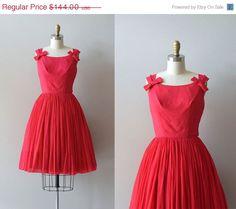25 OFF SALE.... Heart of Hearts dress / silk chiffon by DearGolden, $108.00
