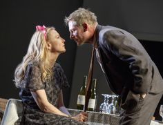 Cate Blanchett and Richard Roxburgh make their Broadway debuts in The Present at the Ethel Barrymore Theatre.2017