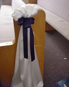 Shannon's Custom Florals Church Wedding Decorations (7)