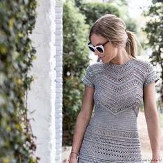 Irish crochet &: CROCHET DRESS BY VANESSA MONTORO