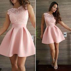 Pretty Prom Dresses, Simple Dresses, Cute Dresses, Beautiful Dresses, Casual Dresses, Short Dresses, Formal Dresses, School Dance Dresses, Grad Dresses