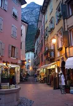 Italy Travel Inspiration - Riva del Garda, Lake Garda, Italy. a visit to the lakes of northern italy is a must-stop.