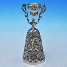 B2505:  Sterling Silver Wager Cup - I Freeman & Sons Hallmarked In 1973 London - Elizabeth II - Image 1
