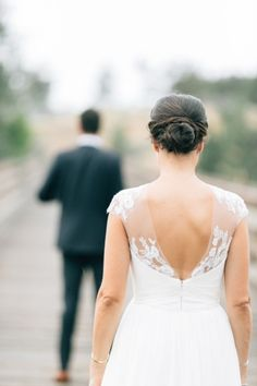Ok, so we love this bride's hair: http://www.stylemepretty.com/oregon-weddings/2014/12/12/intimate-oregon-wedding-at-brasada-ranch/ | Photography: Josselyn Peterson - http://www.josselynpeterson.com/