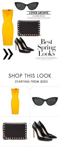 """""""Hey you"""" by anne-maren-weisser-fredriksen on Polyvore featuring Dsquared2, Kate Spade, Valentino, H&M and Alexander McQueen"""