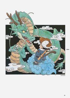Goku encontrando Shenlong