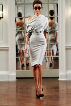 Victoria Beckham is one of my favorite designers right now. I love the way her clothes drape the body. Fall 2011