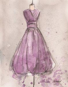 Lemon Lavender Dress
