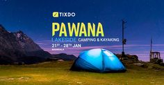 #Camping, #Bonfire, #Barbeque and much more. Enjoy every bit of your trip to Pawana Lake Lonavala.  Book your tix now at tixdo.com Lakeside Camping, Kayaking, Outdoor Gear, Event Ticket, Tent, Books, Livros, Kayaks, Store