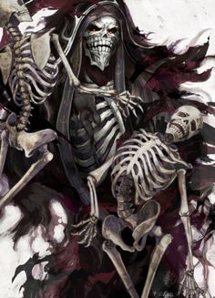 Ainz Ooal Gown by Horocca : overlord 5 Anime, Anime Love, Anime Art, Anime Comics, Overlord Anime Season 2, Dark Fantasy Art, Light Novel, Manga Art, Manhwa