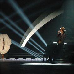 Bruno Mars doing some serious serenading.
