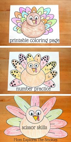 Thanksgiving Dot Painting {Free Printables | Activities, Toddler ...
