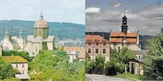 Cathedral of St. John the Baptist (III) before and after conversion to roman-catholic church