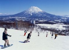 Snowboard at Niseko in Japan - I can and I will get there for Tims 30th.