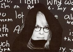Like this black and white pic of Diane Keaton