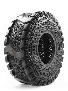 "moodboardmix:  Wim Delvoye ""Truck Tyre"". Courtesy Galerie Perrotin."