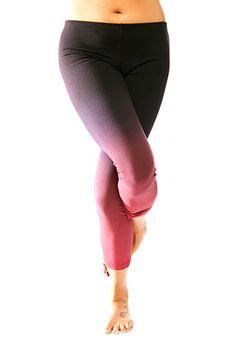Ombre yoga pants