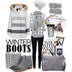 boots and books by kc-spangler on Polyvore featuring Woolrich, Max Studio, LeSportsac, Calypso St. Barth, Dot & Bo, Assouline Publishing and Abrams