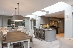 Great open plan feeling but with well defined zones. Lovely use of rooflights to bring in natural light from above is creative inspiration for us. Get more photo about home decor related with by looking at photos gallery at the bottom of this page. We are want to say thanks …