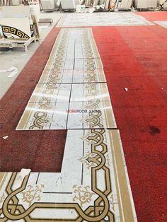 rectangle flooring medallion