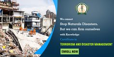 We Cannot  Stop Naturals Disasters. But We Can Arm ourselves with Knowledge https://goo.gl/dVTvh3 #Terrorism #Disaster #Management