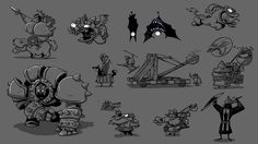 Rayman Legends concept art