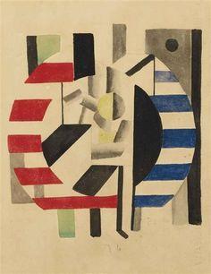 Fernand Léger, Composition avec personnage, 1920