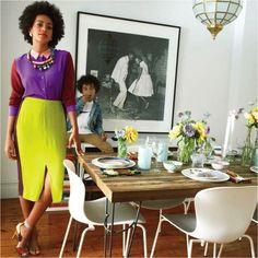 Mix & Match: Solange's kitchen. #Africanprints