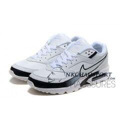 designer fashion 73595 5bedb Nike Air Max BW   Meilleur Chaussures Running Homme Blanche Noir 03