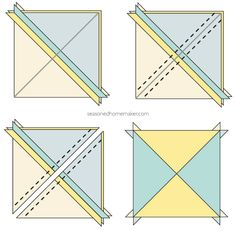 Quick And Easy Quilting Patterns Half Square Triangles 43 Trendy Ideas Half Square Triangle Quilts Pattern, Half Square Triangles, Square Quilt, Star Quilt Blocks, Star Quilts, Easy Quilts, Block Quilt, Scrappy Quilts, Christmas Quilt Patterns