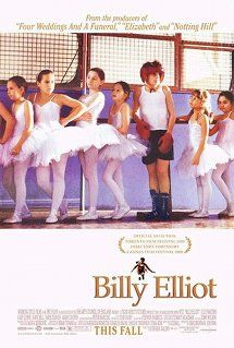 """Mrs. Wilkinson:""""This'll sound strange, Billy, but for some time now I've been thinking of the Royal Ballet School."""" Billy:""""Aren't you a bit old, Miss?"""" Mrs. Wilkinson:""""No, not me... you! I'm the bloody teacher!"""" #BillyElliot (Jamie Bell, Julie Walters, Gary Lewis, Jamie Draven, Stuart Wells, Nicola Blackwell)"""