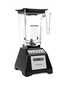 For years, blending professionals have used Blendtec machines in the best coffee shops, juice bars, and eateries around the world. The Total Blender Classic delivers the same great results in your own home! Small Kitchen Appliances, Kitchen Gadgets, Kitchen Blenders, Kitchen Stuff, Kitchen Tools, Kitchen Small, Kitchen Utensils, Kitchen Ideas, Kitchen Decor