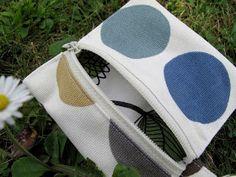 Couture à la maison - Sewing at home: Porte-monnaie carré avec fermeture éclair - tuto
