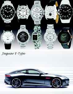 Sports cars and very cool watches :)