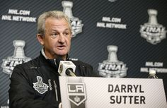 L.A. Kings Darryl Sutter opens up about his son with Down Syndrome