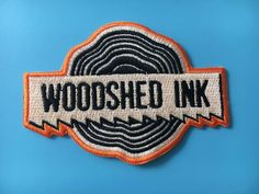 Sew on  EMBROIDERED H//Q canvas fabric Name patches Iron on
