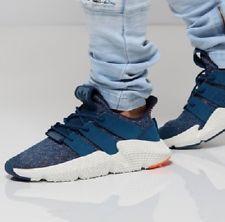 a78399b599c Mens adidas originals prophere blue night hi res orange athletic shoes  aq1026