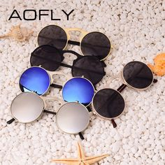 VINTAGE STEAMPUNK Sunglasses round Designer steam punk Metal OCULOS de sol women COATING SUNGLASSES Men Retro CIRCLE SUN GLASSES Like and Share if you agree! #shop #beauty #Woman's fashion #Products #Classes