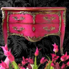 Pink Furniture, Appliances and Home Decor | Calligraphy by Jennifer