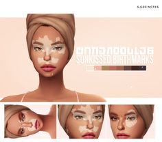 Explore these beautiful Sims 4 vitiligo skin. Unique birthmarks and overlays. Different options and tones for maxis match colors. Sims 4 Cc Eyes, Sims 4 Mm Cc, Sims Four, Sims 4 Body Mods, Sims 4 Game Mods, Maxis, Sims 4 Nails, Sims 4 Tattoos, The Sims 4 Skin