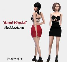 Salem2342: 'Cool World' Collection • Sims 4 Downloads