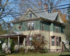 Pin By Dawn Hillman On Victorian House Ideas | Pinterest | Craftsman Style, House  Colors And Victorian Houses