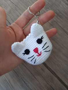 Amigurumi Pussy Coin Making Making - Crochet Stitches Patterns, Baby Knitting Patterns, Stitch Patterns, Crochet Vase, Crochet Tablecloth, Crochet Keychain Pattern, Diy And Crafts, Hello Kitty, Coin Purse