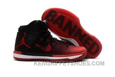 """Discover the 2017 Mens Air Jordan """"Banned"""" Black/University Red-White Super Deals group at Pumafenty. Shop 2017 Mens Air Jordan """"Banned"""" Black/University Red-White Super Deals black, grey, blue and more. Air Jordans, Cheap Jordans, New Jordans Shoes, Nike Shoes, Retro Jordans, Shoes Sneakers, Womens Jordans, Jordan 31, Netball"""