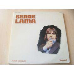 serge lama album 2 disques 33T x 2