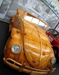 STRANGE CUSTOM VOLKSWAGENS - ALL WOOD!