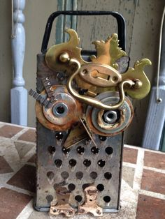 A personal favorite from my Etsy shop https://www.etsy.com/listing/462623468/the-grater-owl