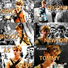 maze runner fan art | The Maze Runner Newt