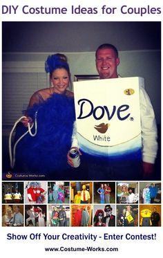 DIY Costumes for Couples #herestoyourhealth #herestoherhealth